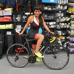 Sandra, Klantenservice en Sport Expert Triathlon
